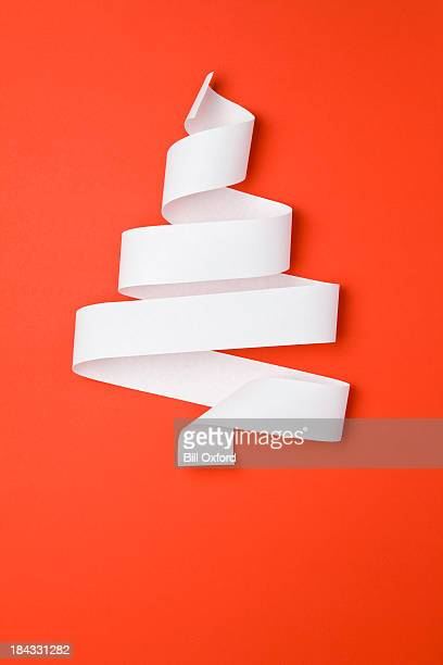 Christmas Tree Made Of Paper