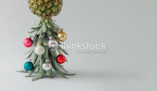 Tannenarten Weihnachtsbaum.Weihnachtsbaum Gemacht Von Ananas Und Weihnachten