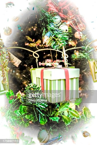 Christmas Tree Ornaments & Decorations : Stock Photo