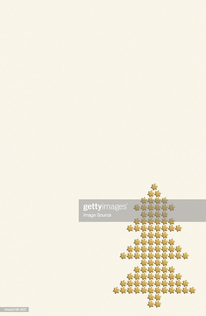 Christmas tree pattern : Stock Photo
