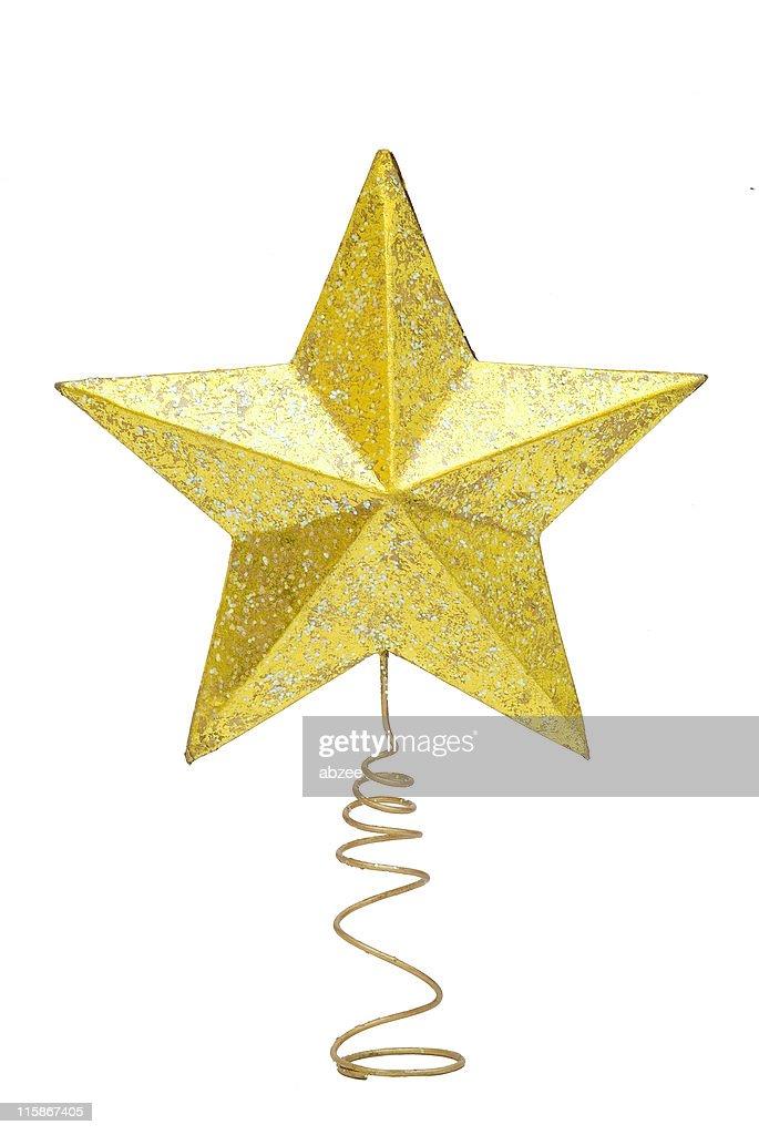 christmas tree star stock photo - Christmas Tree Star