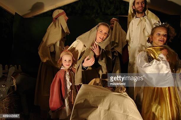 Noël avec Crèche de Noël