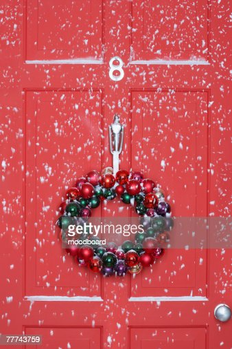Christmas Wreath : Stock Photo