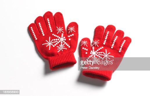 Christmas/winter gloves