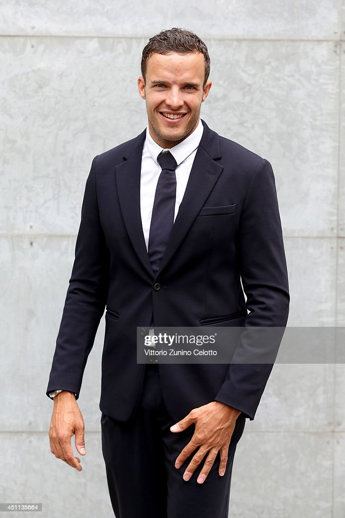 <a gi-track='captionPersonalityLinkClicked' href=/galleries/search?phrase=Christof+Innerhofer&family=editorial&specificpeople=4104734 ng-click='$event.stopPropagation()'>Christof Innerhofer</a> attends Giorgio Armani show during Milan Menswear Fashion Week Spring Summer 2015 on June 24, 2014 in Milan, Italy.