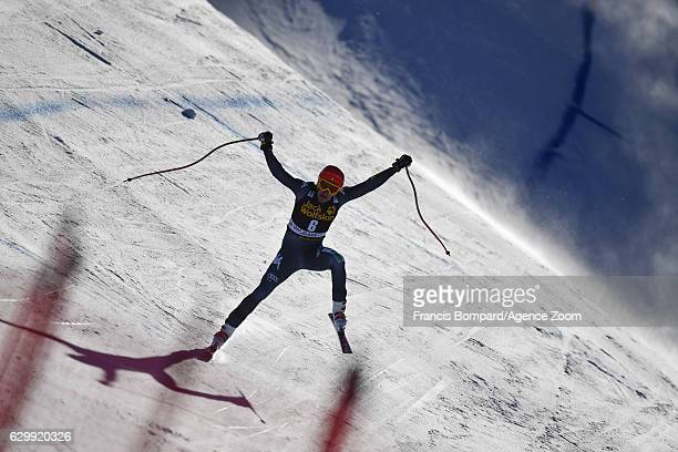 Christof Innerhofer of Italy in action during the Audi FIS Alpine Ski World Cup Men's Downhill Training on December 15 2016 in Val Gardena Italy