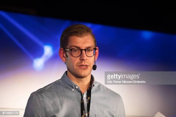 Christoffer Borjesson during the Sime Awards at Epicenter on November 16 2017 in Stockholm Sweden