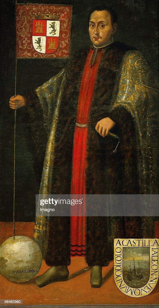 Christoforo Columbus, discoverer of Amerika (1451-1506). (Photo by Imagno/Getty Images) [Christoforo Columbus, Entdecker Amerikas (1451-1506).]