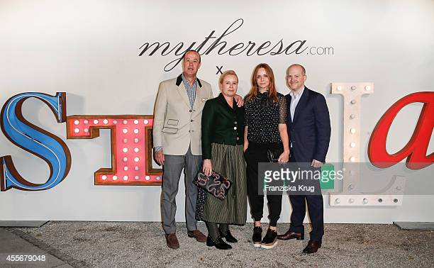 Christoph Botschen Susanne Botschen Stella Mc Cartney and Joshua Schulman attend the mytheresacom x Stella Mc Cartney pre Oktoberfest on September 18...