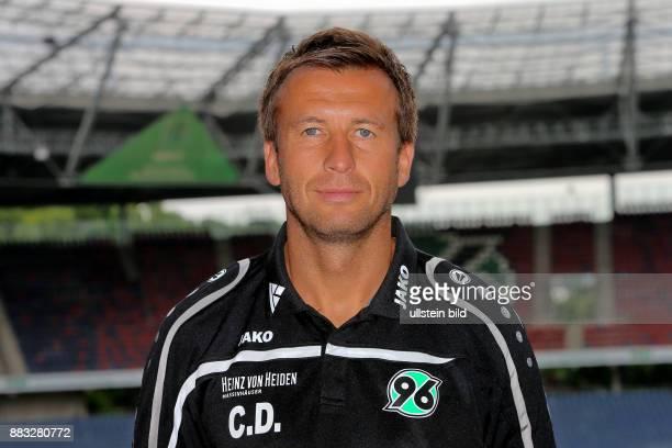 Christoph Dabrowski CoTrainer bei Hannover 96 hier beim Fototermin