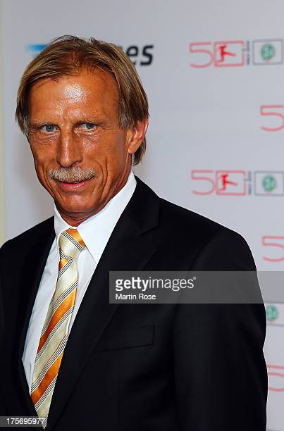 Christoph Daum attends the 50 Years of Bundesliga Gala at Estrel Hotel on August 6 2013 in Berlin Germany