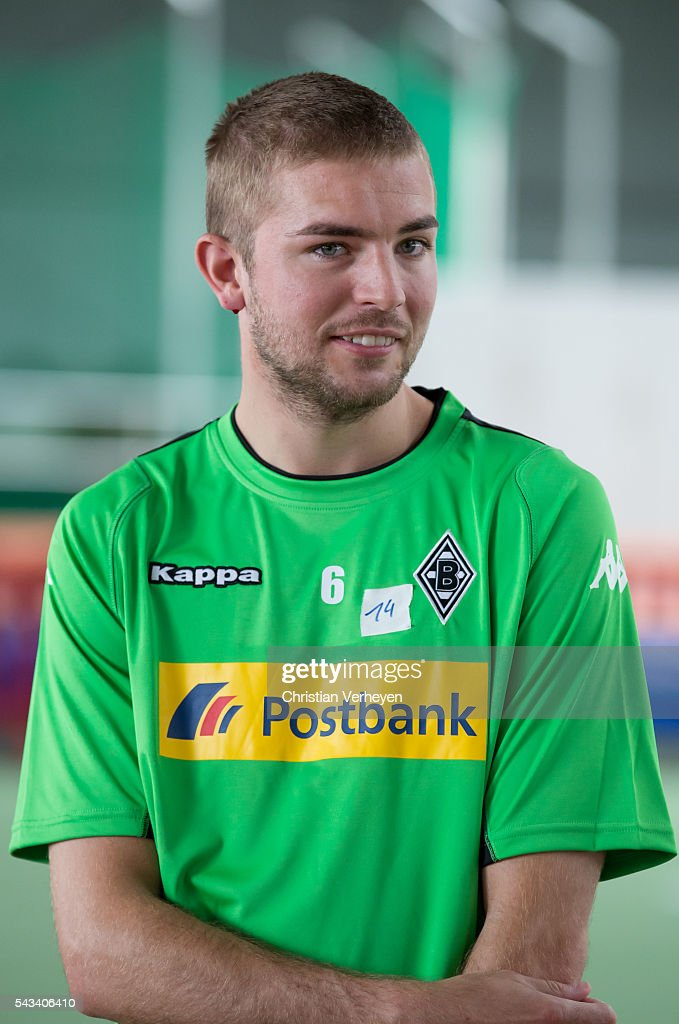 Christoph Kramer of Borussia Moenchengladbach during a Lactate Test in Duesseldorf on June 28, 2016 in Moenchengladbach, Germany.