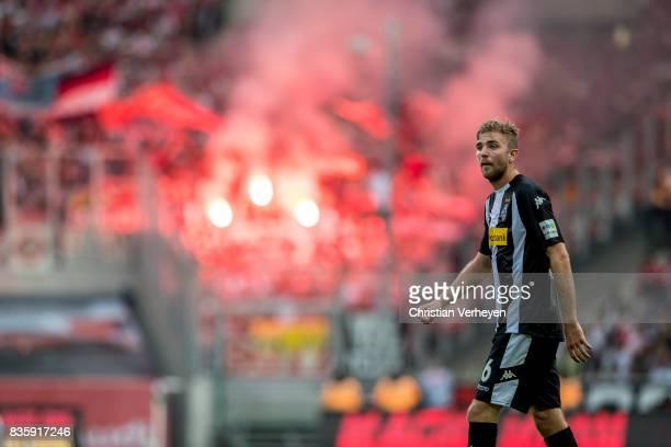 Christoph Kramer of Borussia Moenchengladbach during the Bundesliga match between Borussia Moenchengladbach and 1 FC Koeln at BorussiaPark on August...