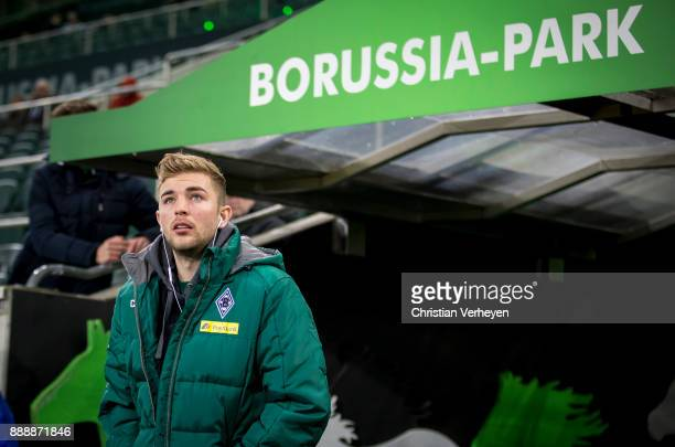 Christoph Kramer of Borussia Moenchengladbach prior the Bundesliga match between Borussia Moenchengladbach and FC Schalke 04 at BorussiaPark on...