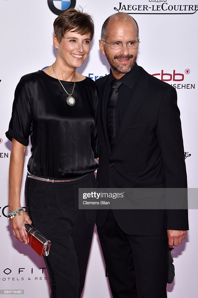 <a gi-track='captionPersonalityLinkClicked' href=/galleries/search?phrase=Christoph+Maria+Herbst&family=editorial&specificpeople=710835 ng-click='$event.stopPropagation()'>Christoph Maria Herbst</a> and his wife Gisi Herbst attend the Lola - German Film Award (Deutscher Filmpreis) on May 27, 2016 in Berlin, Germany.