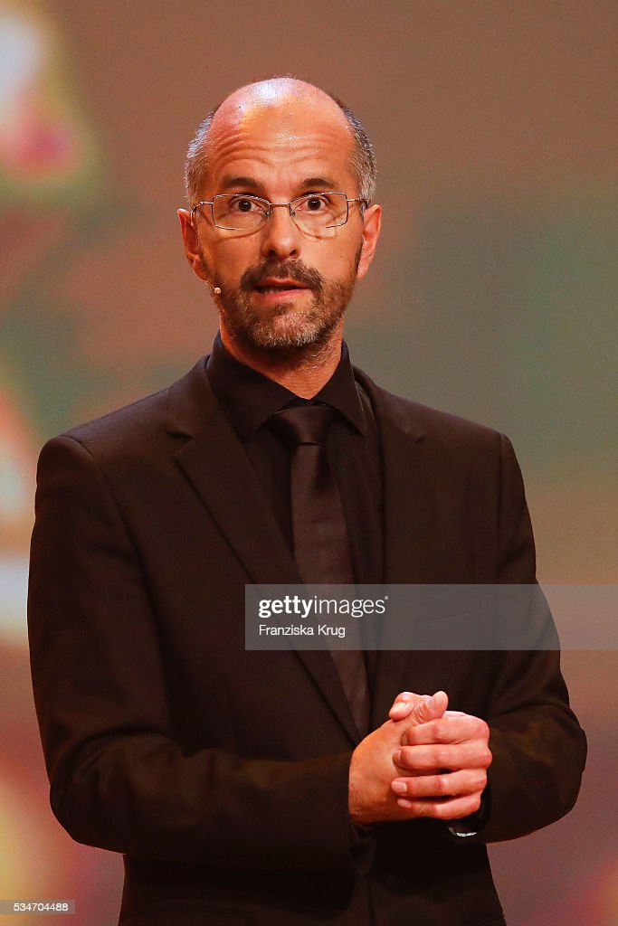 <a gi-track='captionPersonalityLinkClicked' href=/galleries/search?phrase=Christoph+Maria+Herbst&family=editorial&specificpeople=710835 ng-click='$event.stopPropagation()'>Christoph Maria Herbst</a> during the Lola - German Film Award (Deutscher Filmpreis) 2016 - Show on May 27, 2016 in Berlin, Germany.