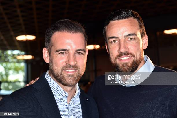 Christoph Metzelder and his brother Malte Metzelder attend the Pre Golf Party during the 9th Golf Charity Cup hosted by the Christoph Metzelder...
