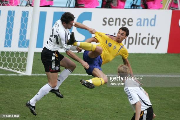 Christoph METZELDER / Zlatan IBRAHIMOVIC Allemagne / Suede Coupe du Monde 2006