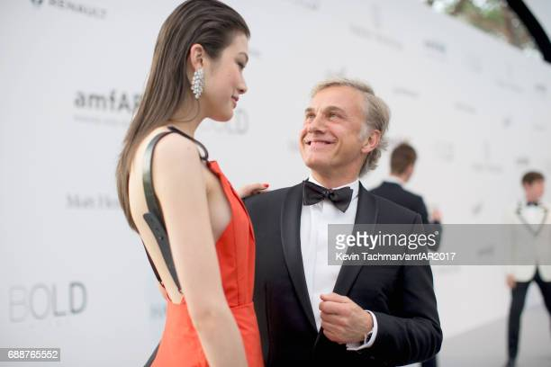 Christoph Waltz arrives at the amfAR Gala Cannes 2017 at Hotel du CapEdenRoc on May 25 2017 in Cap d'Antibes France