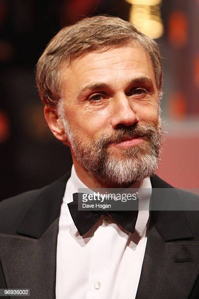 Christoph Waltz arrives at the Orange British Academy Film Awards held at The Royal Opera House on February 21 2010 in London England
