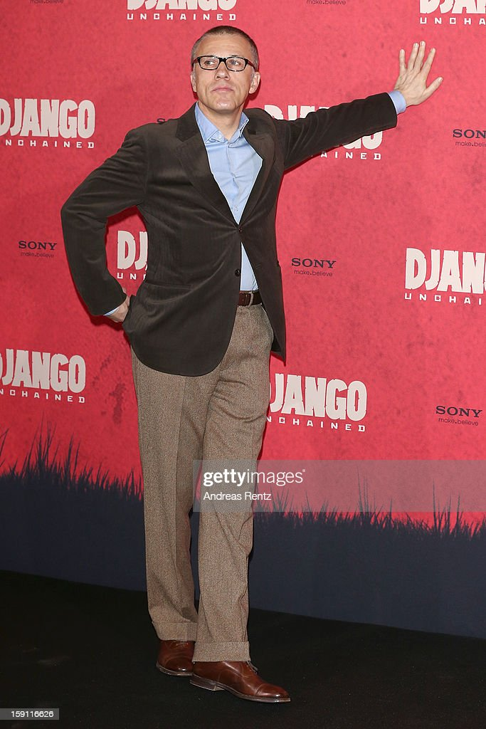 Christoph Waltz attends 'Django Unchained' Berlin Photocall at Hotel de Rome on January 8, 2013 in Berlin, Germany.