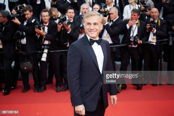 Christoph Waltz attends the 70th Anniversary of the 70th annual Cannes Film Festival at Palais des Festivals on May 23 2017 in Cannes France