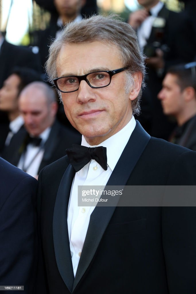 Christoph Waltz attends the 'Behind The Candelabra' premiere during The 66th Annual Cannes Film Festival at Theatre Lumiere on May 21, 2013 in Cannes, France.