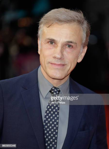 Christoph Waltz attends the BFI Patron's Gala and UK Premiere of 'Downsizing' during the 61st BFI London Film Festival at the Odeon Leicester Square...