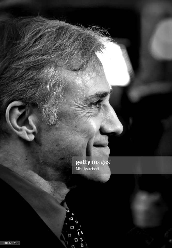 Christoph Waltz attends the BFI Patron's Gala & UK Premiere of 'Downsizing' during the 61st BFI London Film Festival on October 13, 2017 in London, England.