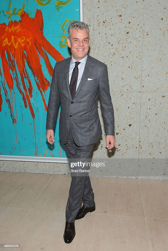 Christoph Waltz attends the 'Big Eyes' New York Premiere After Party at Kappo Masa on December 15 2014 in New York City