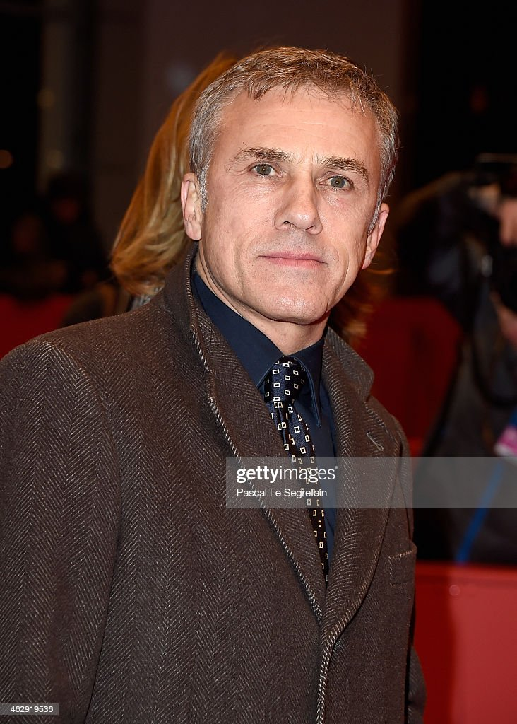 Christoph Waltz attends the 'Diary of a Chambermaid' (Journal d'une femme de chambre) premiere during the 65th Berlinale International Film Festival at Berlinale Palace on February 7, 2015 in Berlin, Germany.