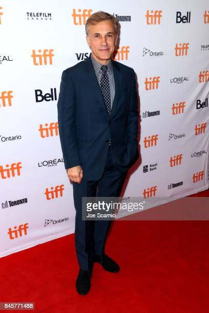 Christoph Waltz attends the 'Downsizing' premiere during the 2017 Toronto International Film Festival at The Elgin on September 11 2017 in Toronto...