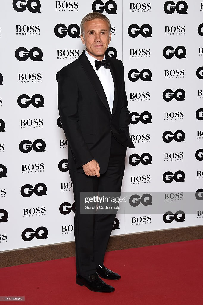 <a gi-track='captionPersonalityLinkClicked' href=/galleries/search?phrase=Christoph+Waltz&family=editorial&specificpeople=4276914 ng-click='$event.stopPropagation()'>Christoph Waltz</a> attends the GQ Men Of The Year Awards at The Royal Opera House on September 8, 2015 in London, England.