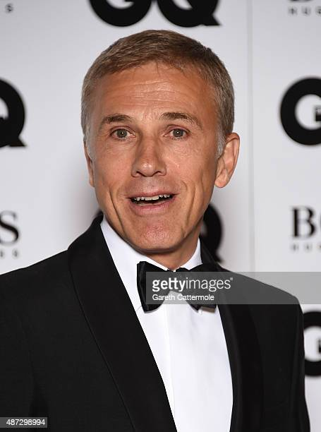 Christoph Waltz attends the GQ Men Of The Year Awards at The Royal Opera House on September 8 2015 in London England