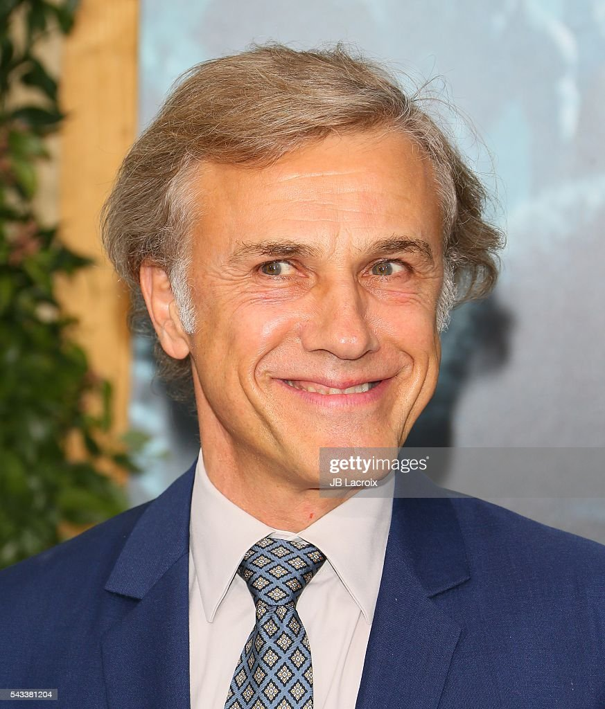 <a gi-track='captionPersonalityLinkClicked' href=/galleries/search?phrase=Christoph+Waltz&family=editorial&specificpeople=4276914 ng-click='$event.stopPropagation()'>Christoph Waltz</a> attends the premiere of Warner Bros. Pictures' 'The Legend of Tarzan' on June 27, 2016 in Hollywood, California.