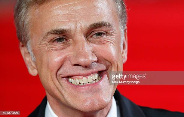 Christoph Waltz attends the Royal Film Performance of 'Spectre' at The Royal Albert Hall on October 26 2015 in London England
