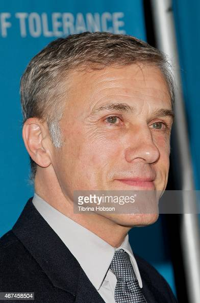 Christoph Waltz attends the Simon Wiesenthal Center's national tribute dinner at The Beverly Hilton Hotel on March 24 2015 in Beverly Hills California