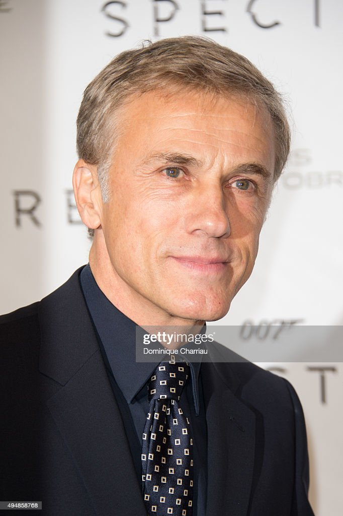 Christoph Waltz attends the 'Spectre' Paris Premiere at Le Grand Rex on October 29, 2015 in Paris, France.