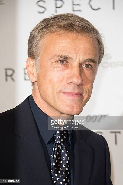 Christoph Waltz attends the 'Spectre' Paris Premiere at Le Grand Rex on October 29 2015 in Paris France