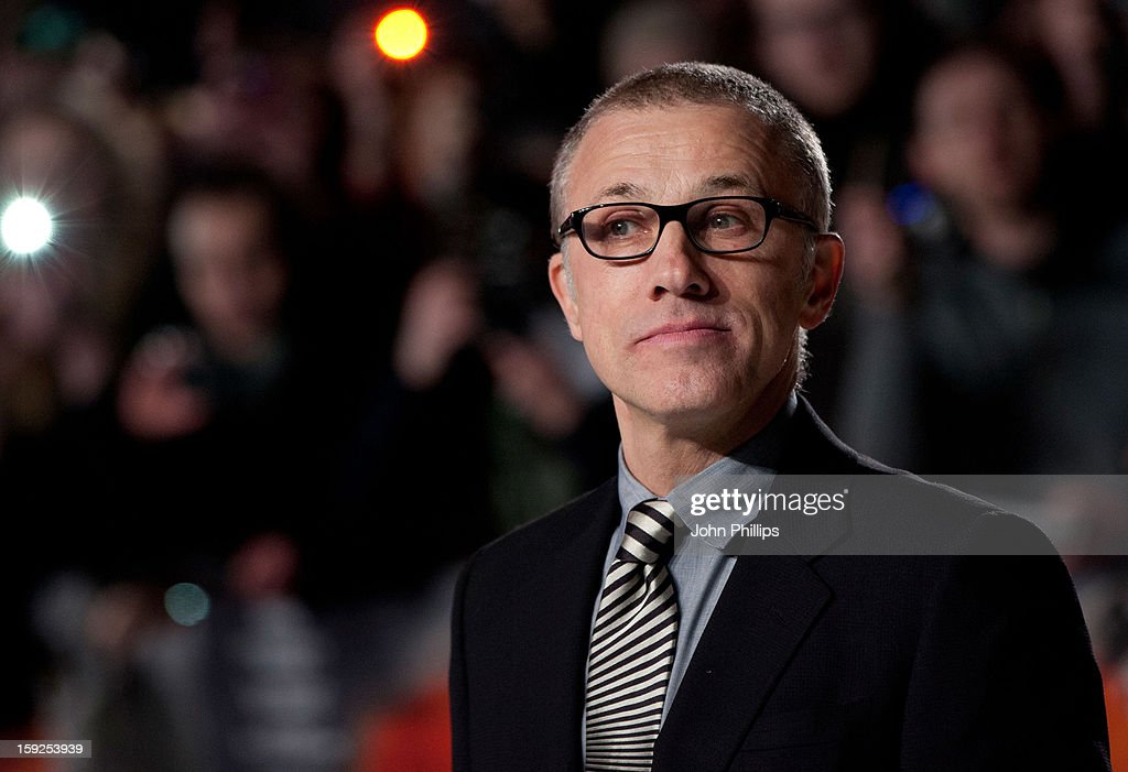 Christoph Waltz attends the UK Premiere of 'Django Unchained'>> at Empire Leicester Square on January 10, 2013 in London, England.
