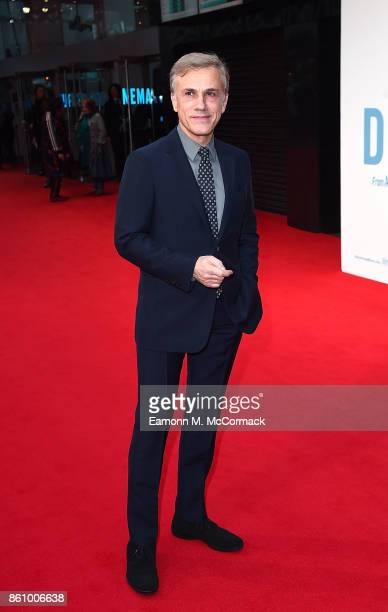 Christoph Waltz attends the UK premiere of 'Downsizing' the BFI Patron's Gala during the London Film Festival on October 13 2017 in London England