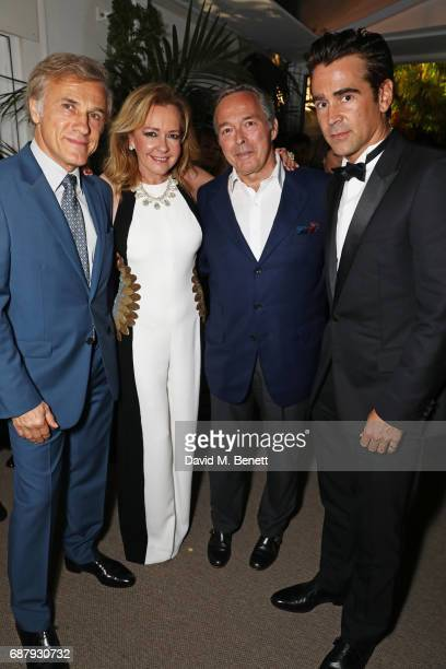 Christoph Waltz Caroline Scheufele Artistic Director and CoPresident of Chopard KarlFriedrich Scheufele CoPresident of Chopard and Colin Farrell...