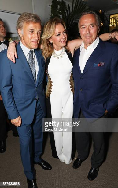 Christoph Waltz Caroline Scheufele Artistic Director and CoPresident of Chopard and KarlFriedrich Scheufele CoPresident of Chopard attend the Chopard...