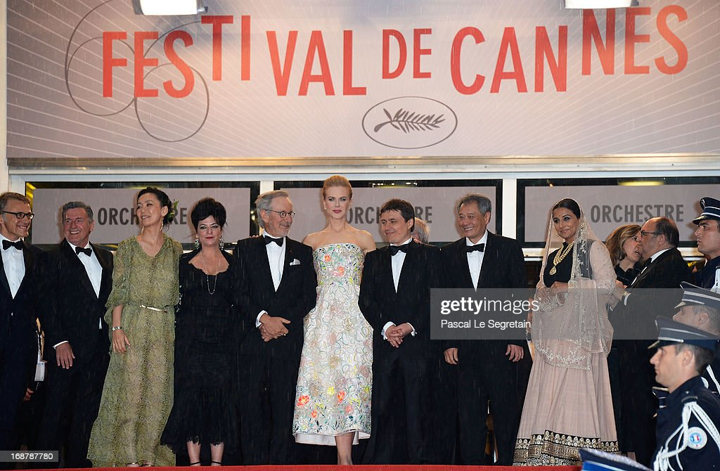 <a gi-track='captionPersonalityLinkClicked' href=/galleries/search?phrase=Christoph+Waltz&family=editorial&specificpeople=4276914 ng-click='$event.stopPropagation()'>Christoph Waltz</a>, Daniel Auteuil, <a gi-track='captionPersonalityLinkClicked' href=/galleries/search?phrase=Naomi+Kawase&family=editorial&specificpeople=3267953 ng-click='$event.stopPropagation()'>Naomi Kawase</a>, <a gi-track='captionPersonalityLinkClicked' href=/galleries/search?phrase=Lynne+Ramsay&family=editorial&specificpeople=2118955 ng-click='$event.stopPropagation()'>Lynne Ramsay</a>, <a gi-track='captionPersonalityLinkClicked' href=/galleries/search?phrase=Steven+Spielberg&family=editorial&specificpeople=202022 ng-click='$event.stopPropagation()'>Steven Spielberg</a>, <a gi-track='captionPersonalityLinkClicked' href=/galleries/search?phrase=Nicole+Kidman&family=editorial&specificpeople=156404 ng-click='$event.stopPropagation()'>Nicole Kidman</a>, <a gi-track='captionPersonalityLinkClicked' href=/galleries/search?phrase=Cristian+Mungiu&family=editorial&specificpeople=4292523 ng-click='$event.stopPropagation()'>Cristian Mungiu</a>, <a gi-track='captionPersonalityLinkClicked' href=/galleries/search?phrase=Ang+Lee&family=editorial&specificpeople=215104 ng-click='$event.stopPropagation()'>Ang Lee</a> and <a gi-track='captionPersonalityLinkClicked' href=/galleries/search?phrase=Vidya+Balan&family=editorial&specificpeople=563348 ng-click='$event.stopPropagation()'>Vidya Balan</a> attend the Opening Ceremony and 'The Great Gatsby' Premiere during the 66th Annual Cannes Film Festival at the Theatre Lumiere on May 15, 2013 in Cannes, France.