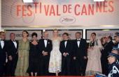 Christoph Waltz Daniel Auteuil Naomi Kawase Lynne Ramsay Steven Spielberg Nicole Kidman Cristian Mungiu Ang Lee and Vidya Balan attend the Opening...