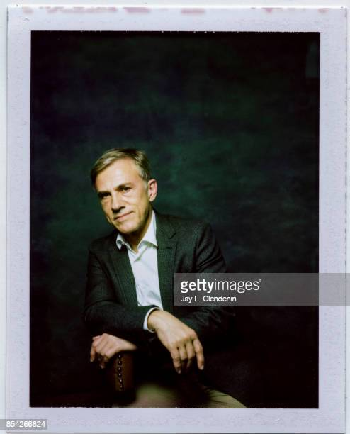 Christoph Waltz from the film 'Downsizing' is photographed on polaroid film at the LA Times HQ at the 42nd Toronto International Film Festival in...