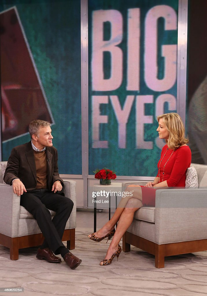 AMERICA - Christoph Waltz is a guest on 'Good Morning America,' 12/16/14, airing on the ABC Television Network.