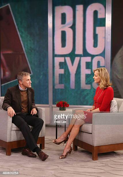 AMERICA Christoph Waltz is a guest on 'Good Morning America' 12/16/14 airing on the ABC Television Network