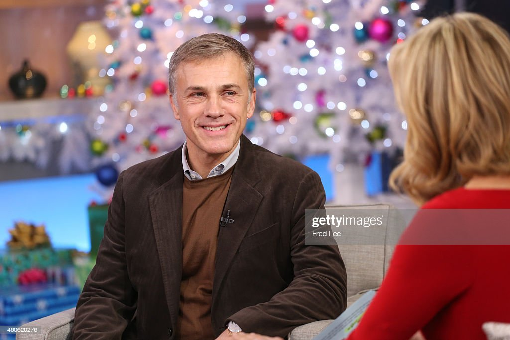 AMERICA - <a gi-track='captionPersonalityLinkClicked' href=/galleries/search?phrase=Christoph+Waltz&family=editorial&specificpeople=4276914 ng-click='$event.stopPropagation()'>Christoph Waltz</a> is a guest on 'Good Morning America,' 12/16/14, airing on the ABC Television Network.