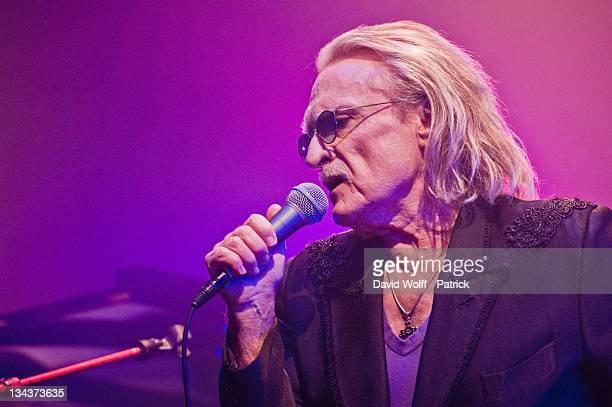 Christophe alias Daniel Bevilacqua performs at Le Palace on January 31 2011 in Paris France